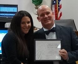 Caitlin Salas - Award